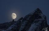 luna su becca di Monciair