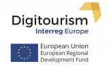 Logo Interreg Europe Digitourism