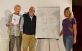 Noi e loro, Gabriele Caccialanza, Danilo Mainardi e Luisa Vuillermoz - Archivio FGP