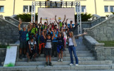 l'arrivo di Giroparchi Nature Trail 2021