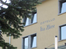 La Mine, l'ostello e la caffetteria del Villaggio Minatori