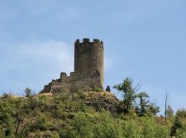 Villeneuve, il Castello Argent, XII Secolo - foto di Enrico Robetto