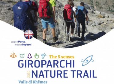 giroparchi nature trail 2020 i cinque sensi