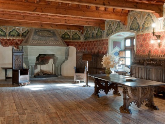 Sala Giustizia Castello Introd - foto di Stefano Venturini Archivio FGP