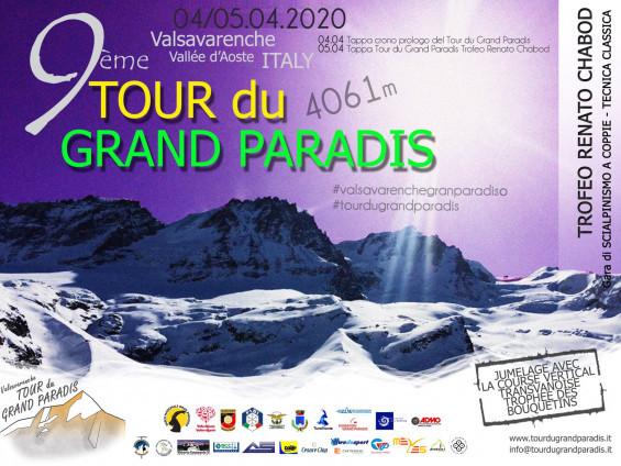 volantino nono tour di gran paradis 4 e 5 aprile 2020