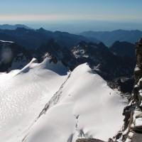 E ora la parte più impegnativa: la cresta di roccia finale