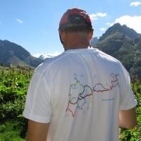 Il percorso si snoda lungo l'itinerario Blu Giroparchi, la nuova rete di trekking natura dei parchi valdostani