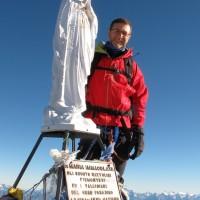 4.061 metri: Fabio in vetta al Gran Paradiso!