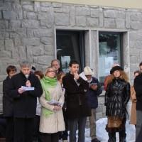 Inaugurazione mostra Franz Elter - Archivio FGP