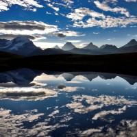 Lago Rosset con nuvole - Foto di Luca Fassio - Archivio FGP