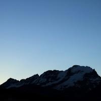 Le retour de l'aube au Grand Paradis - Carmine Troise